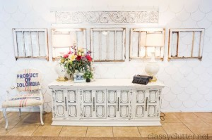 DIY Scalloped Wall