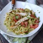 Guacamole-Linguine-with-Chicken-cookingwithcurls.com-cleaneatingchallenge