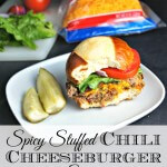 Spicy Stuffed Chili Cheeseburger Sliders #shop #SayCheeseburger #CollectiveBias #cbias 1