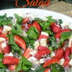 Strawberry Arugula SaladP