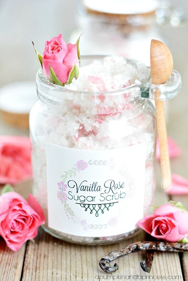 Vanilla Rose Sugar Scrub