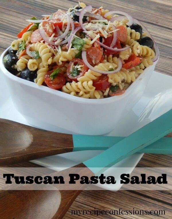 easy tuscan pasta