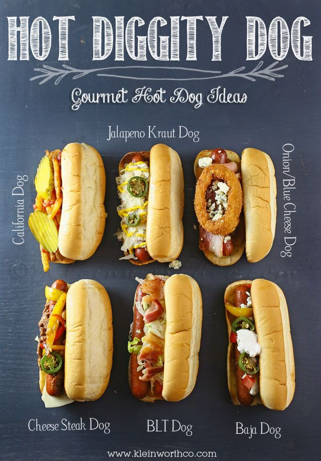gourmet hot dog ideas