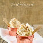 toasted coconut banana ice cream