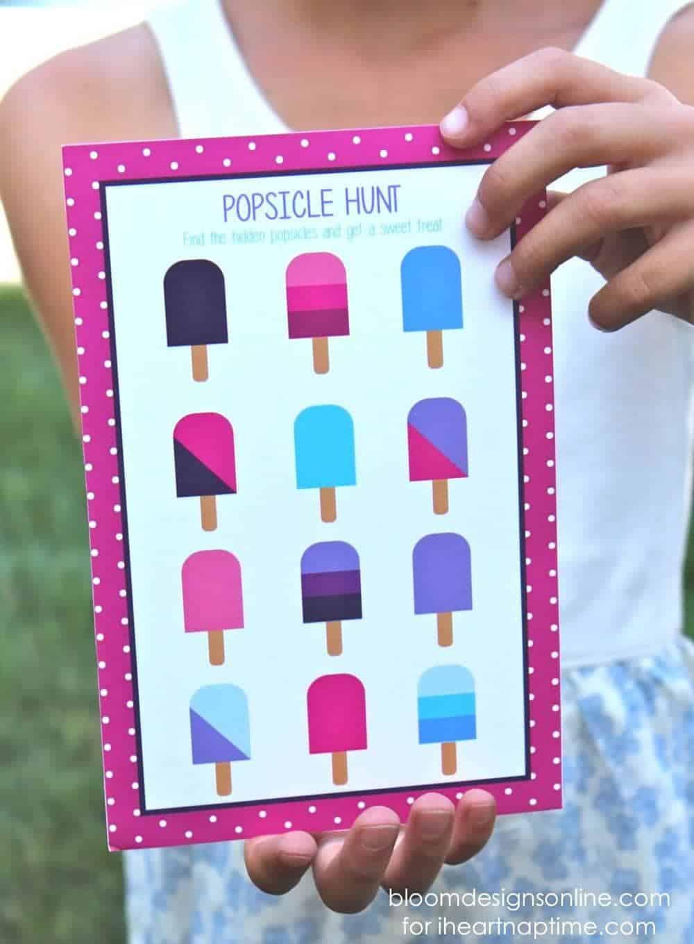 popsicle hunt on iheartnaptime.com