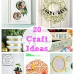 20 Craft Ideas