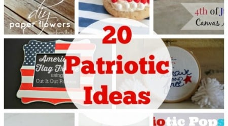 20 Patriotic Ideas {Link Party Features}
