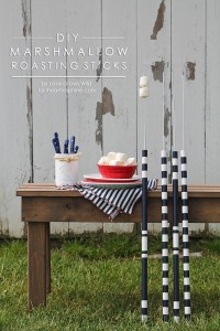 DIY Marshmallow Roasting Sticks | by Love Grows Wild for iheartnaptime.com