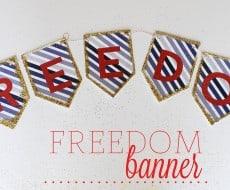 Freedom Banner
