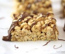 Honey Nut Cheerios Peanut Butter Bars I Heart Nap Time