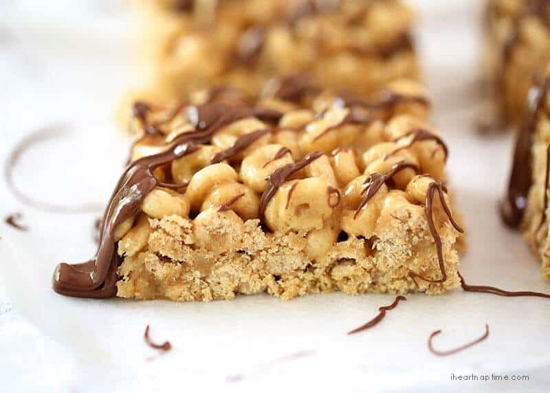 Honey nut cheerios peanut butter bars i heart nap time no bake chocolate peanut butter cereal bars recipe on iheartnaptime ccuart Image collections