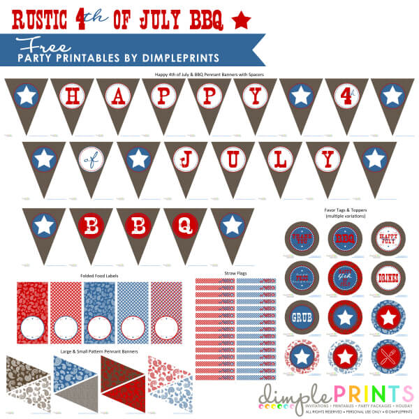 Rustic-4th-July-BBQ-Free-Printable-Party-by-DimplePrints-1