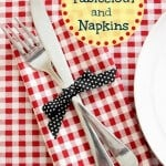 Tablecloth and Napkins by Yesterfood