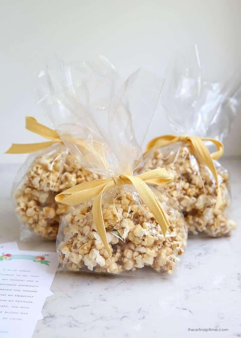 caramel corn gift