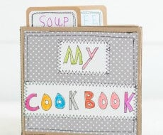 handmade kid cookbook