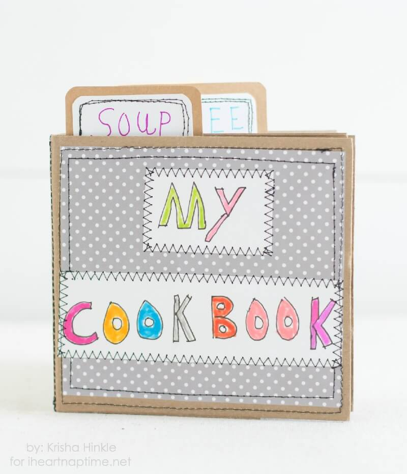 Kid cookbook on iheartnaptime.com