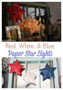 star paper lights