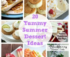 20 Summer Dessert Ideas