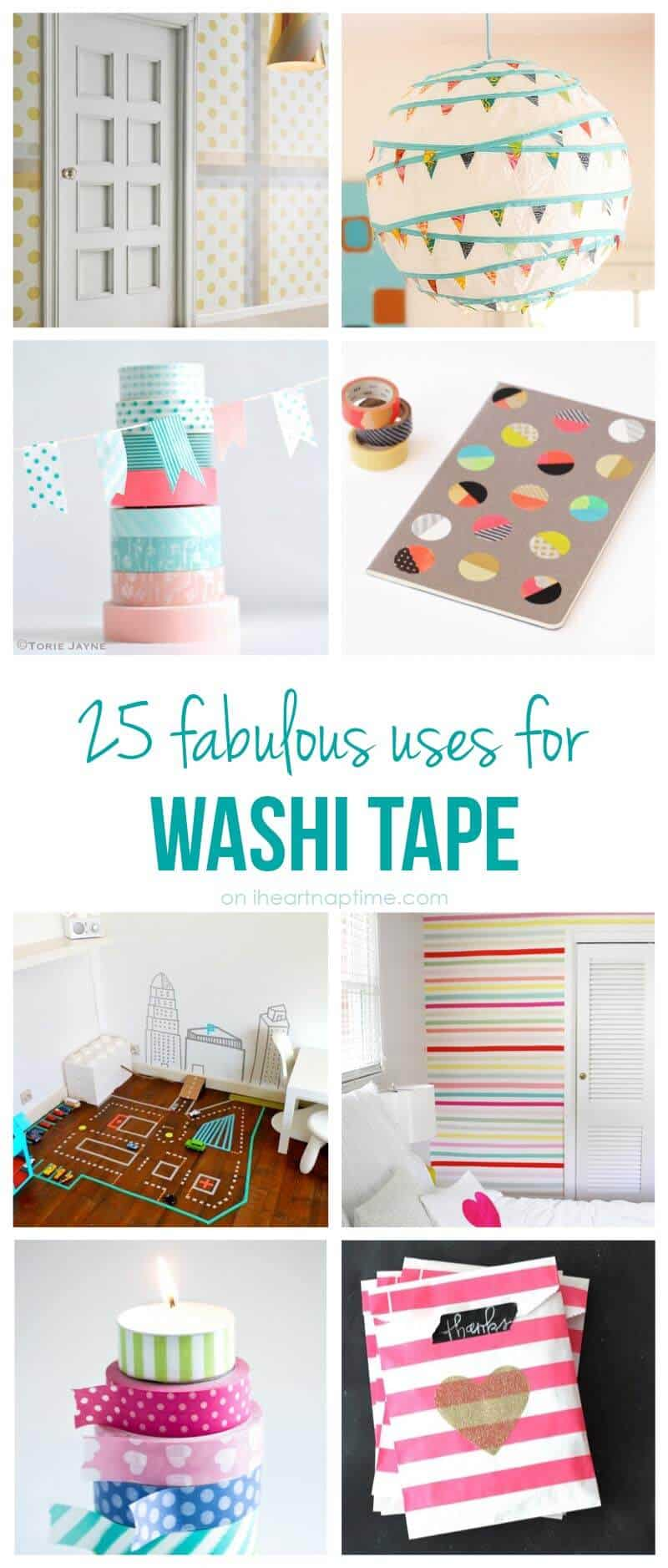 25 fabulous uses for washi tape