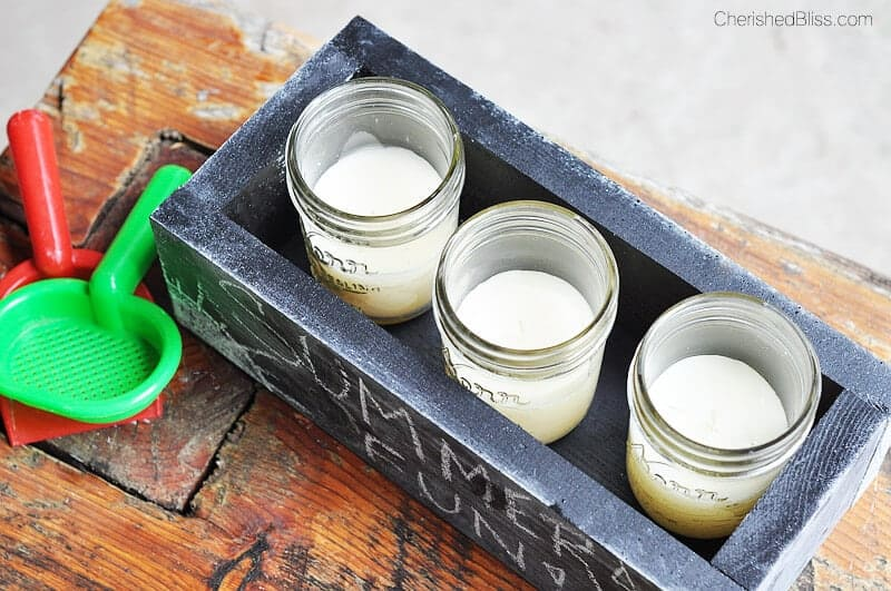 DIY Citronella Candle Box by Cherished Bliss on iheartnaptime.com