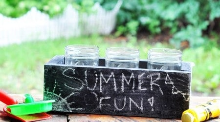 DIY Citronella Candle Box {Hello Summer}