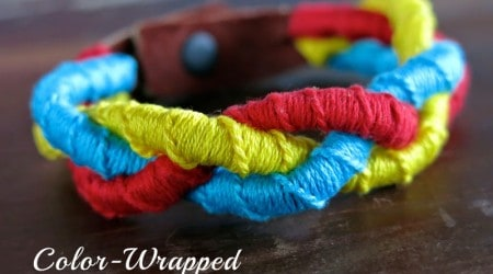 Color-Wrapped Mystery Braid Bracelet {Hello Summer}