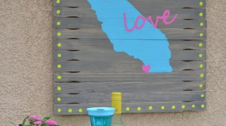 Easy Outdoor Art {Hello Summer}