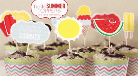 Hello Summer Toppers {Hello Summer}