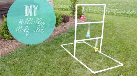 DIY Hillbilly Golf Set {Hello Summer}