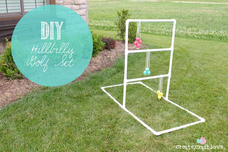 DIY Hillbilly Golf Set by Create.Craft.Love on iheartnaptime.com