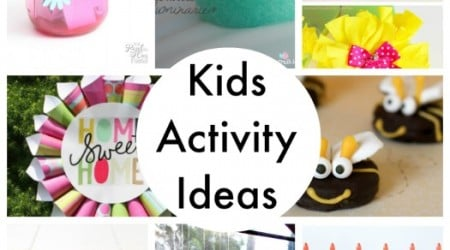 20 Kids Activity Ideas {Link Party Features}