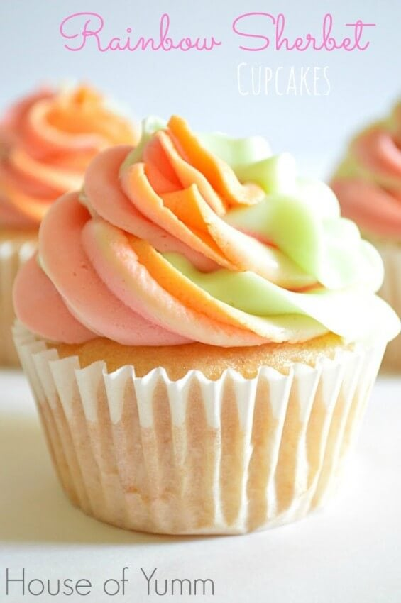 Rainbow-Sherbet-Cupcakes