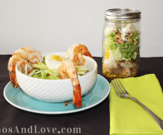 Shrimp bacon salad1