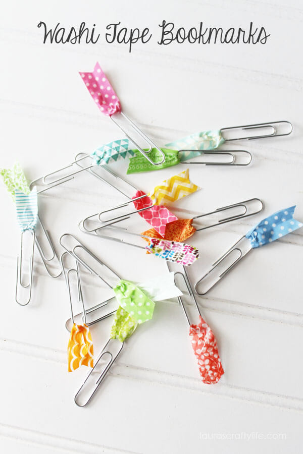 Washi-Tape-Bookmarks-via-Lauras-Crafty-Life