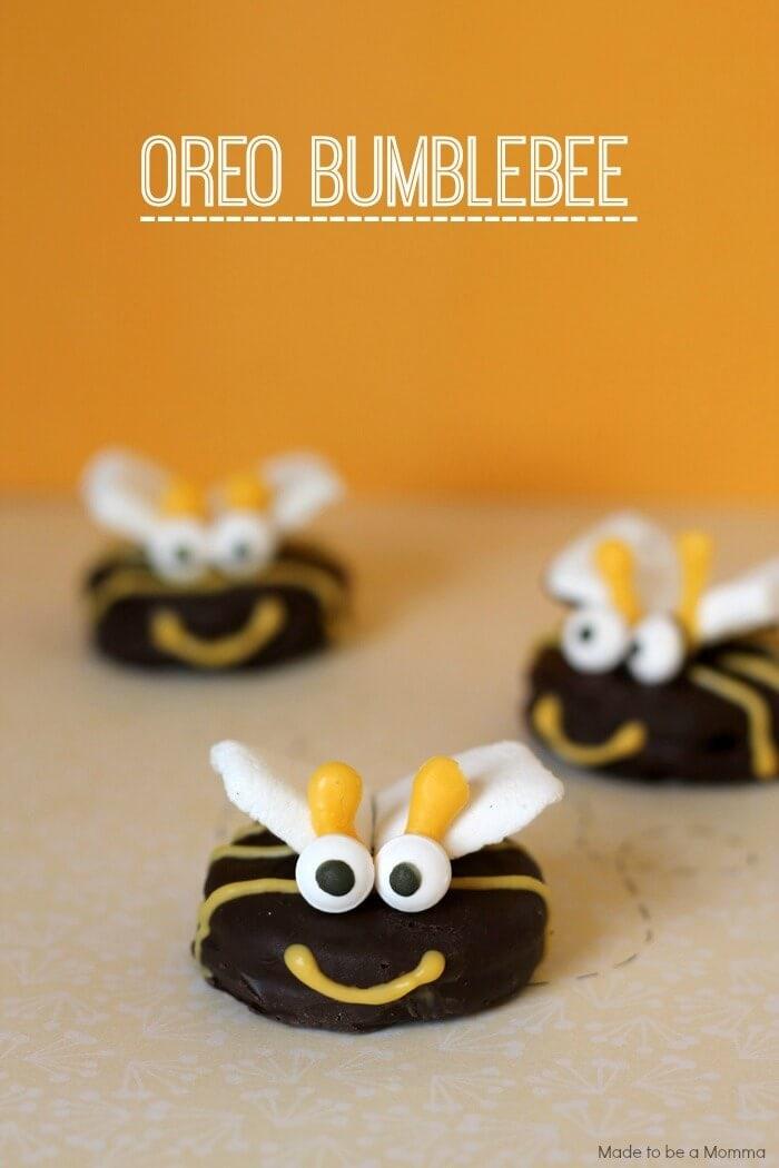 oreo bumblebee cookies