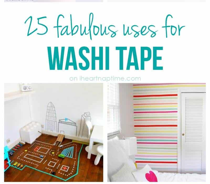 25 Excellent Uses For Washi Tape I Heart Nap Time