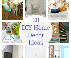 20 DIY Home Decor Ideas
