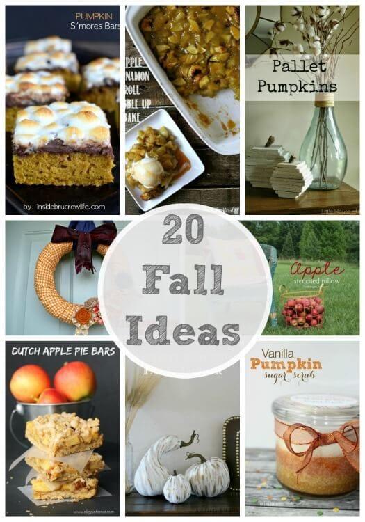 20 Fall Ideas