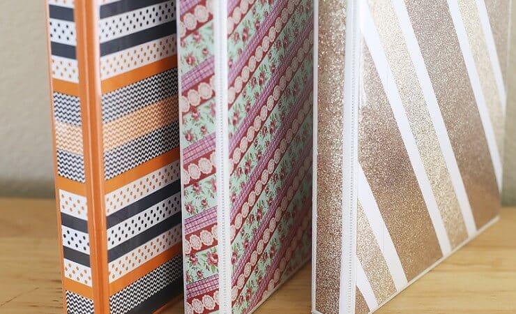 DIY BInder Covers by Blooming Homestead