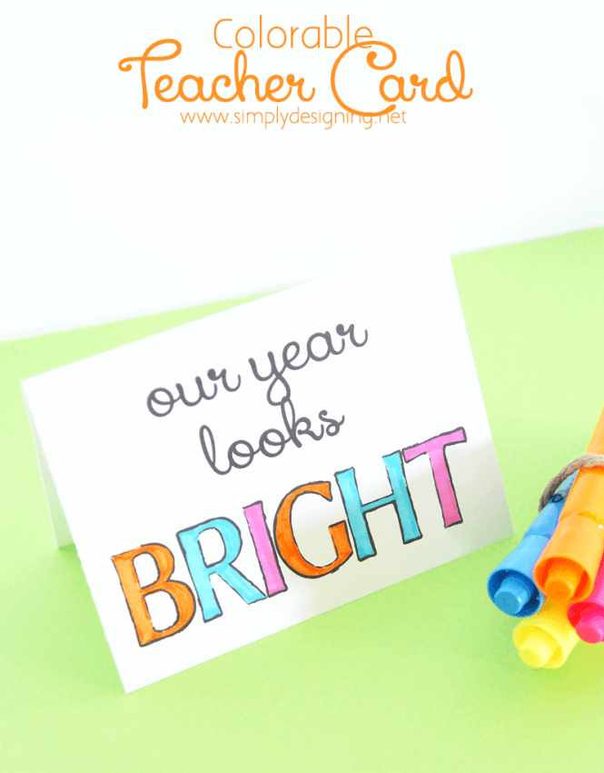 Colorable-Teacher-Card