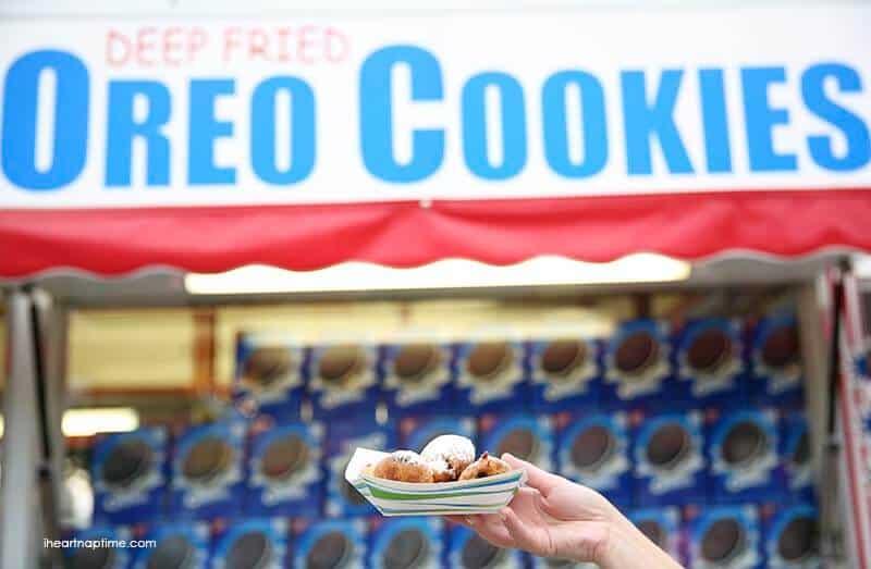 deep fried oreo