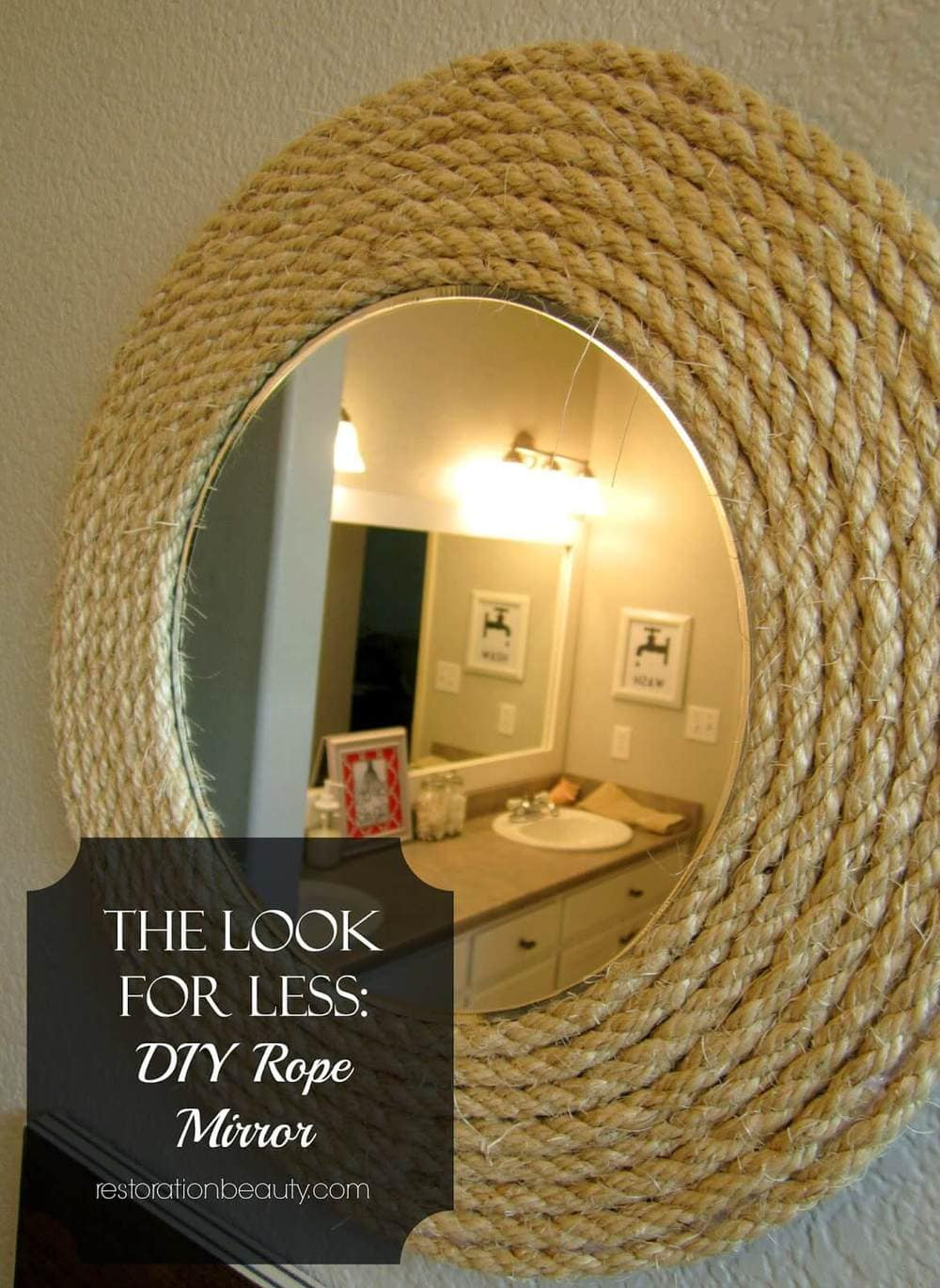 diy rope mirror 5