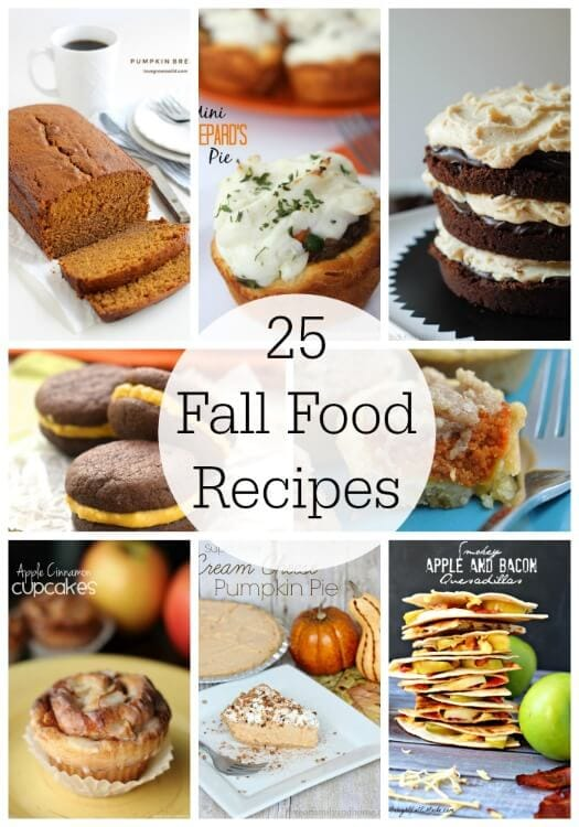 25 Fall Food Recipes