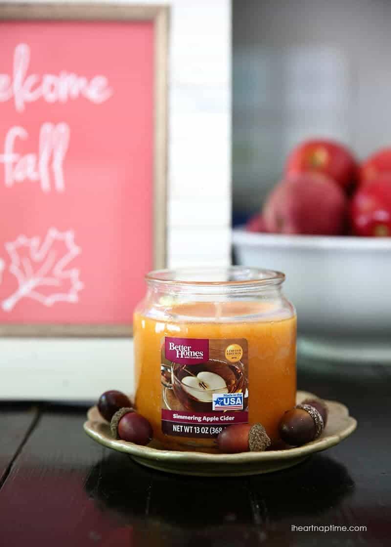 BHG apple cider candle