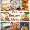 Fall Dessert Ideas