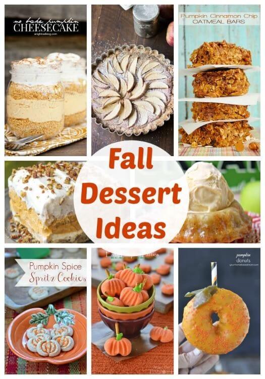 Fall Dessert Ideas