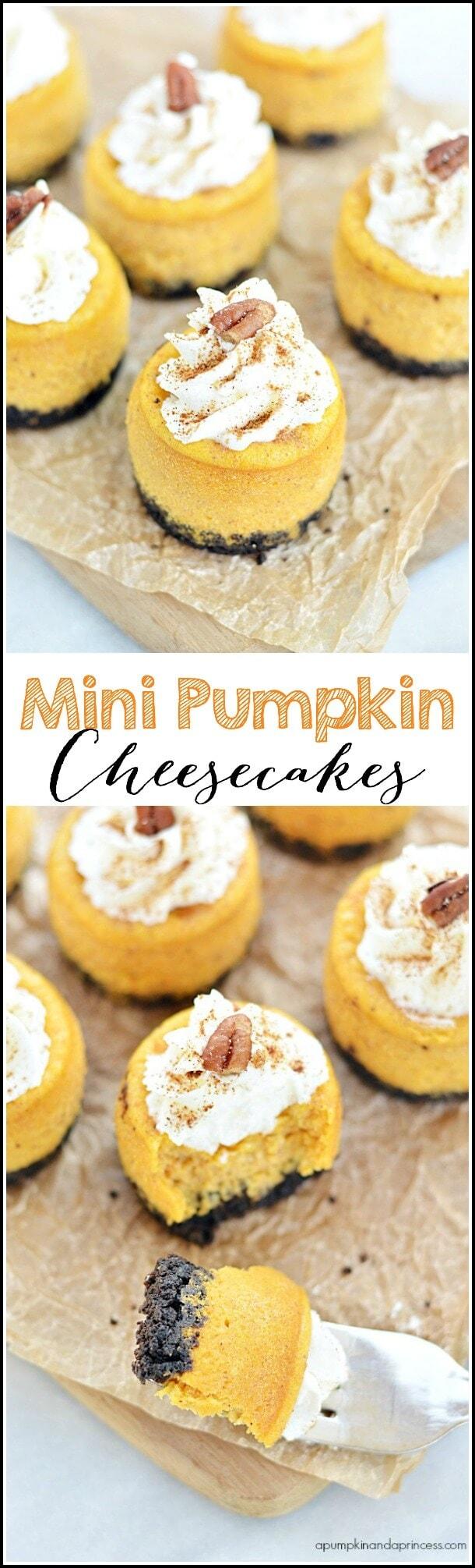 Pumpkin-Cheesecakes-Recipe