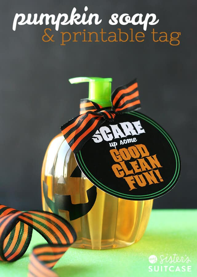 pumpkin-soap-and-printable-tag