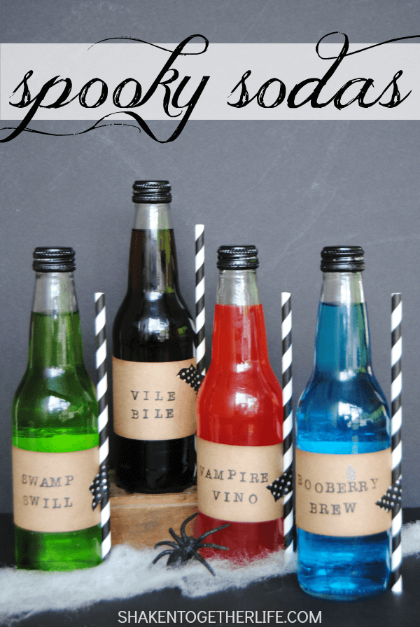 spooky-sodas-Halloween-party-idea