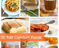 20 Fall Comfort Foods